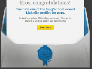 LinkedIn Summary 2012
